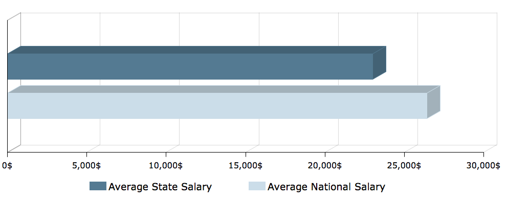 CNA Salary in Tennessee 1