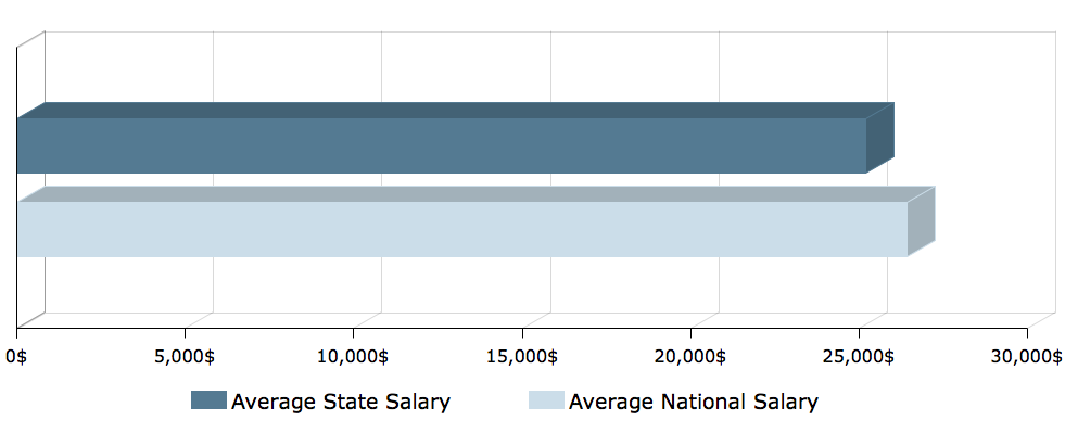 CNA Salary in Virginia 1