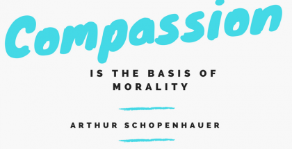 Compassion is the basis of morality Nursing Quote